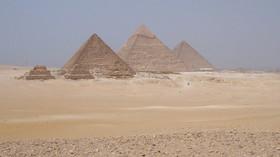 Komu patří obrovský černý sarkofág? Nález z Egypta zamotal expertům hlavu - anotační foto
