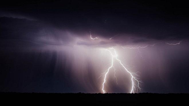 Bouřky, ilustrační fotografie