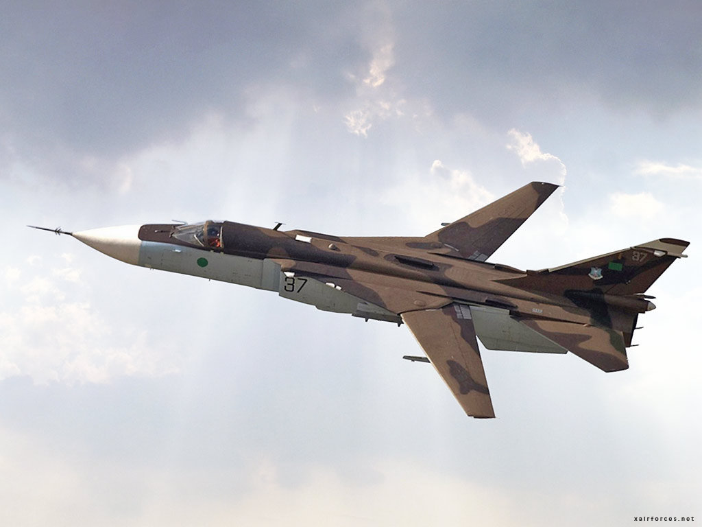 Sukhoi Su-24MK Fencer-D (Libyan Air Force)