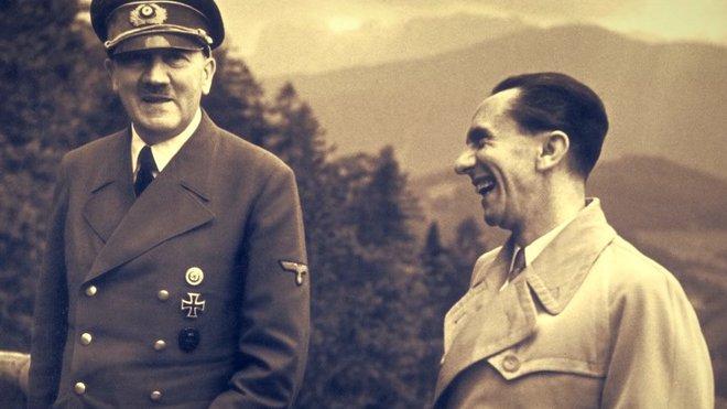 Adolf Hitler a Josef Goebbels
