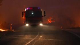 Požáry v Chorvatsku: Hoří tisíce hektarů lesa (červenec 2015)