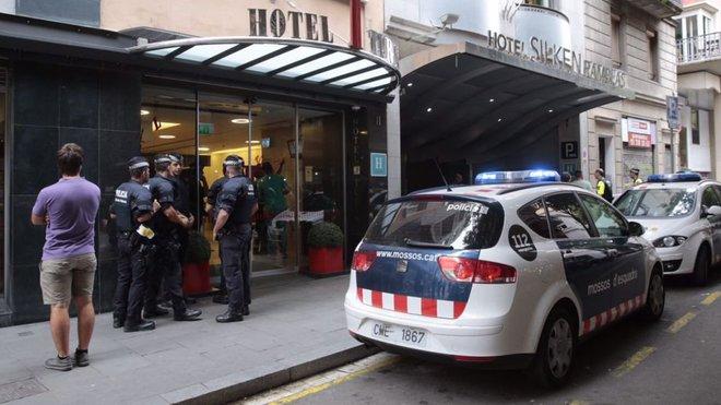 Španělská policie, ilustrační foto