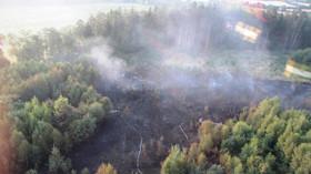 Požáry lesu v ČR
