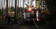 Policie vyšetřuje příčiny požárů na Kokořínsku - anotační obrázek