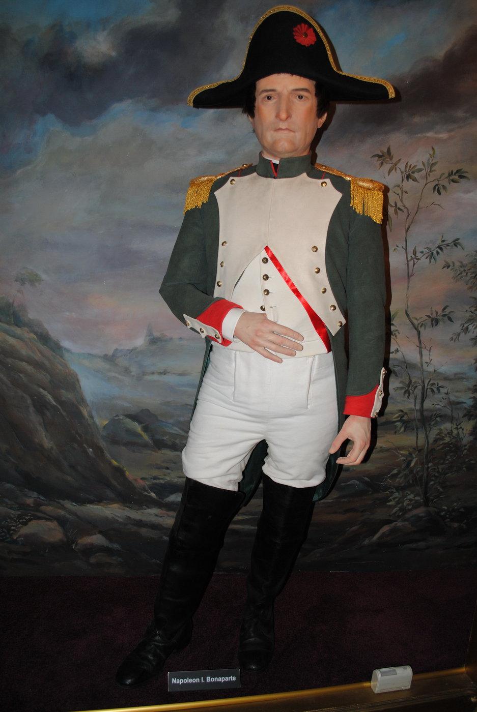 Napoleon Bonaparte, muzeum voskových figurín Karlštejn