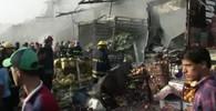 Pumový útok v Bagdádu: 10 mrtvých a 22 zraněných - anotační obrázek