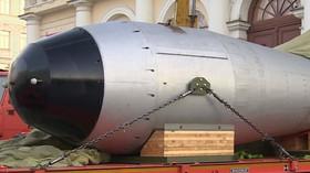 Replika jaderné bomby Car
