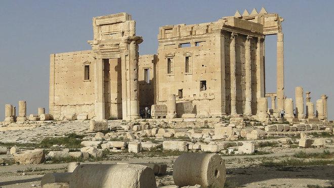 Radikálové z Islámského státu poničili Belův chrám v Palmýře