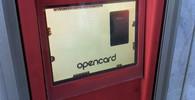 Dobíjecí terminál Opencard v Praze