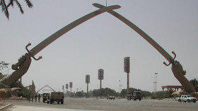 Irák, centrum Bagdádu