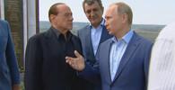 Berlusconi navštívil okupovaný Krym. Přijel za Putinem