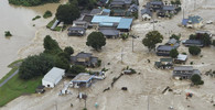 Japonsko ničí obří povodně