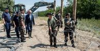 Policisté budou chránit hranice v Maďarsku a Makedonii, schválila dnes vláda - anotační obrázek