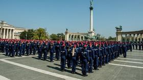 Maďarská policie, ilustrační foto