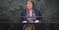 Michelle Bacheletová,  je chilská levostředová politička, v letech 2006–2010 prezidentka státu jako první žena v historii země a druhá v Jižní Americe. Dne 15. prosince 2013 byla prezidentkou zvolena podruhé.