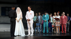 Adéla Gondíková poprvé v Mamma Mia! (2. října 2015)