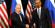 Vladimir Putin s Barackem Obamou