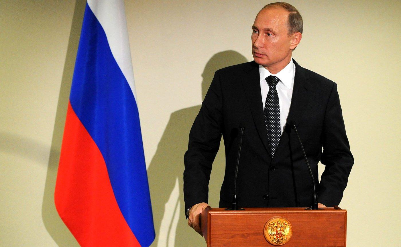Vladimir Putin, ruský prezident