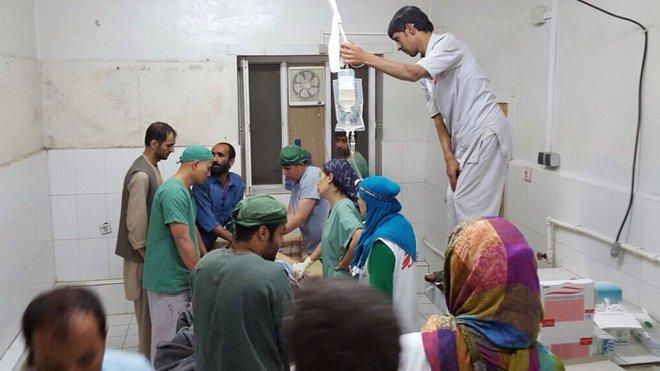 Nemocnice Lékařů bez hranic v Kundúzu