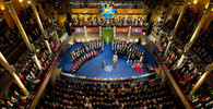Slavnostní udílení Nobelových cen (foto: Alexander Mahmoud)