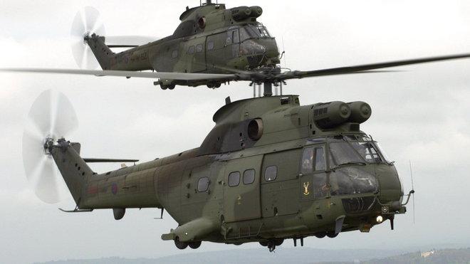 Vrtulníky typu Puma Mk 2 královské letky RAF