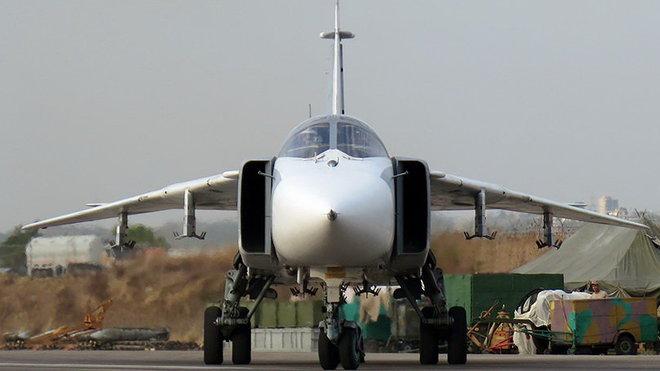 Ruské bojové letectvo v Sýrii