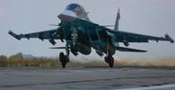 Ruská armáda nasadila v Sýrii nové stíhací letouny - anotační obrázek
