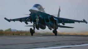 Ruská armáda nasadila v Sýrii nové stíhací letouny - anotační foto