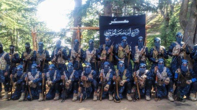 Výcvikový tábor Islámského státu v Afghánistánu