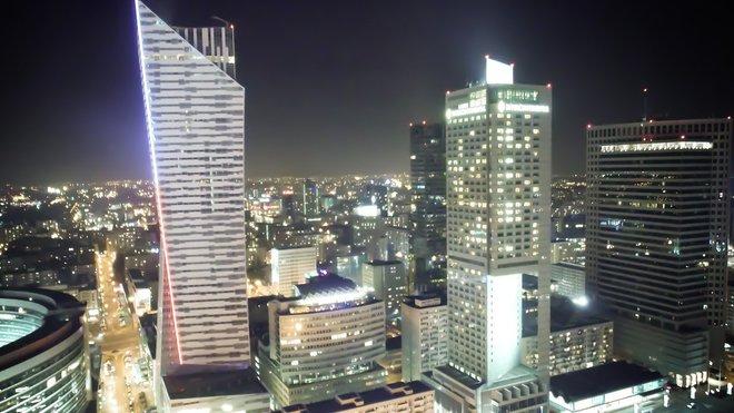 Varšava - mrakodrapy