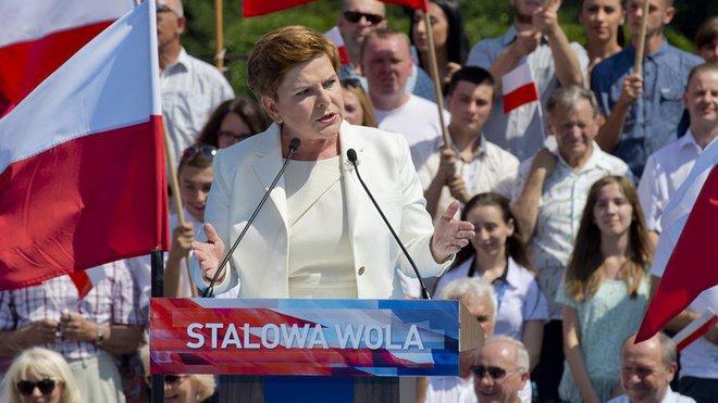 Beata Szydlová, strana Právo a spravedlnost