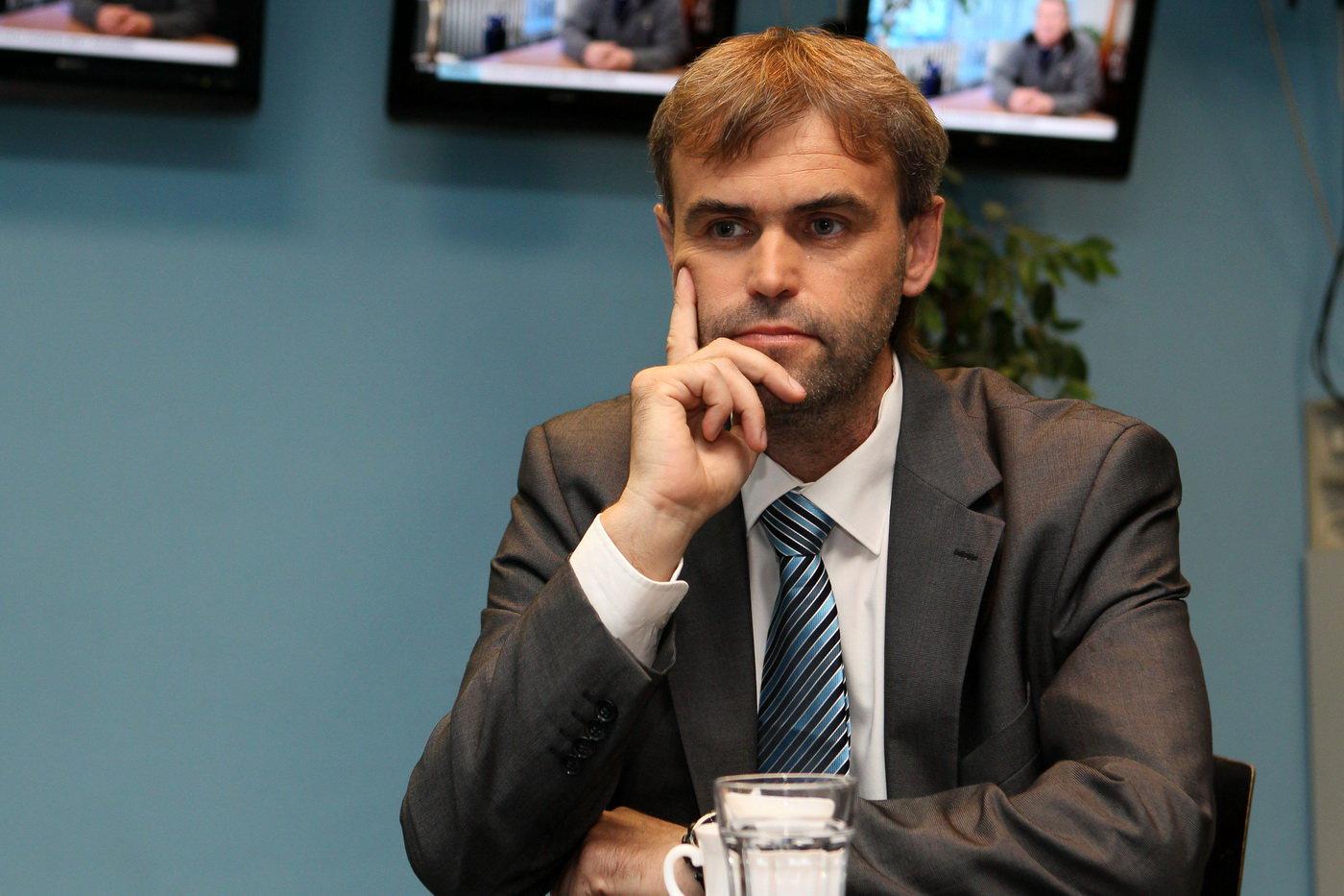 Ředitel Útvaru pro odhalování organizovaného zločinu Robert Šlachta.