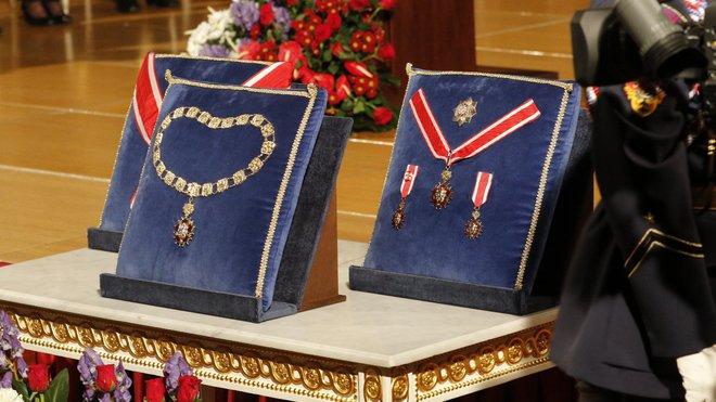 Udělování státních vyznamenání prezidentem Milošem Zemanem (28. října 2015)