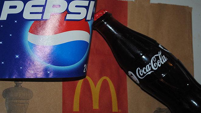 Pepsi Co., McDonald's, Coca-Cola