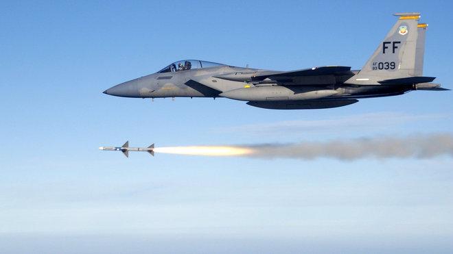 Stíhací letoun F-15 Eagle, ilustrační fotografie