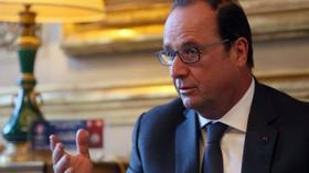 François Hollande, Président de la République française
