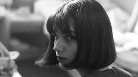 Představitelka filmové Olgy Hepnarové, polská herečka Michalina Olszańska