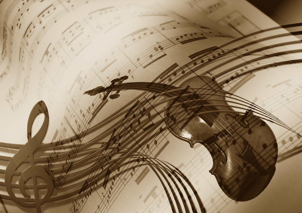 Hudba, ilustrační foto