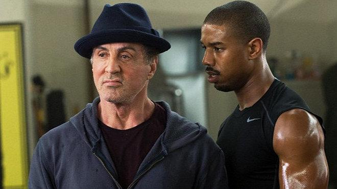 Sylvester Stallone, Michael B. Jordan
