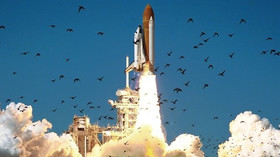 Okamžik startu raketoplánu Challenger STS-51L