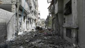 Homs, kdysi chlouba Sýrie, dnes jen trosky a ruiny