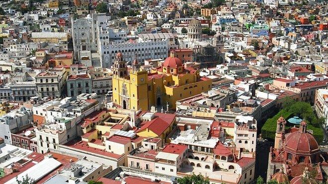 Mexiko, ilustrační foto