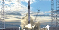 Raketa Falcon 9 při startu