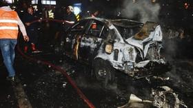 Auto, které bylo naloženo výbušninami, Ankara