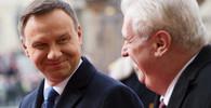 Andrzej Duda a Miloš Zeman