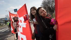 Česko vítá čínského prezidenta Si Ťin-pchinga (28. 3. 2016)