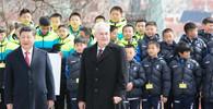 Čínský prezident dorazil na Pražský hrad