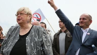 Prvomájová demonstrace Bloku proti islámu na Letné (1. května 2016)
