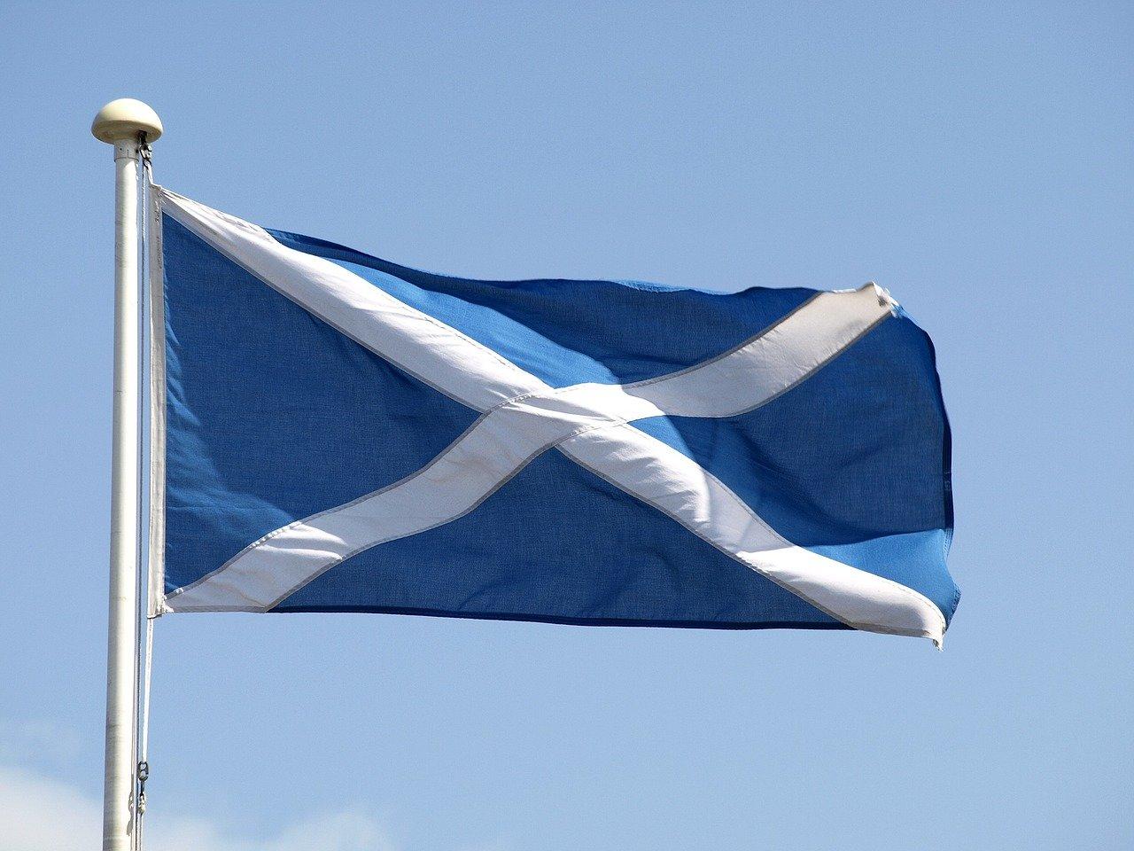 Skotská vlajka