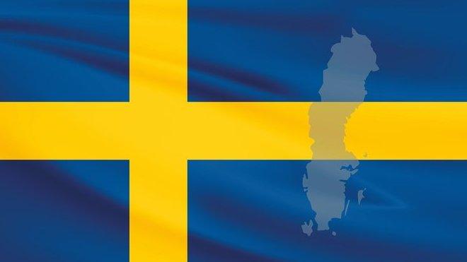 Vlajka Švédska